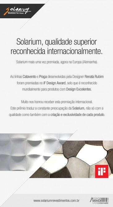 Solarium ganha prêmio internacional