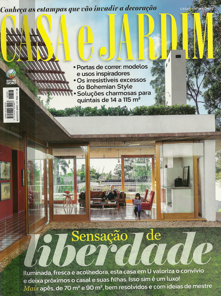 Slim basic na revista casa e jardim blog solarium for Casa jardin revista