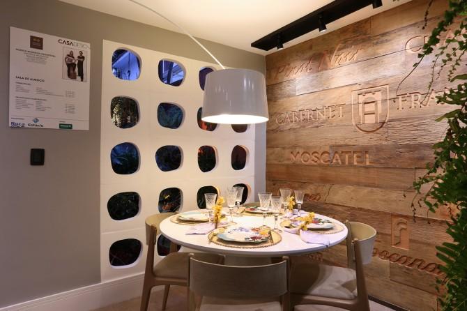 Linha Cobogó Atoll no Melhor Projeto de Sustentabilidade da Casa Design Niterói pelo Jornal O Globo