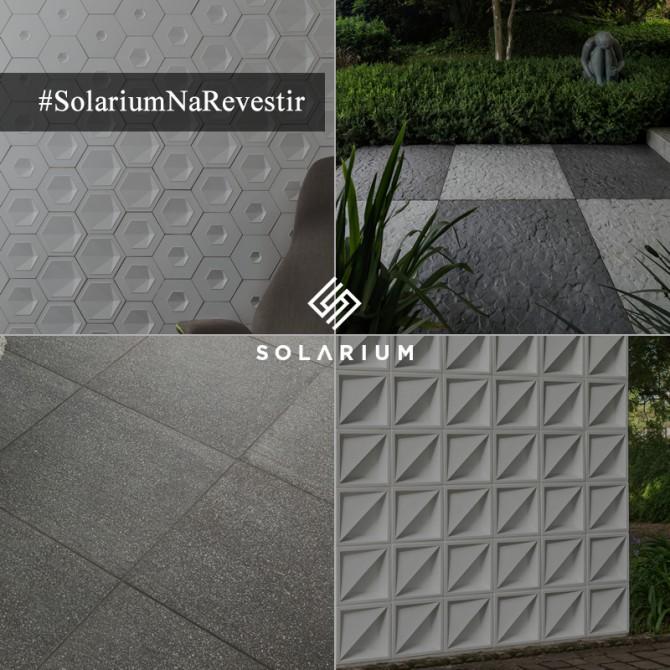 Lançamentosda Solarium na Expo Revestir 2016