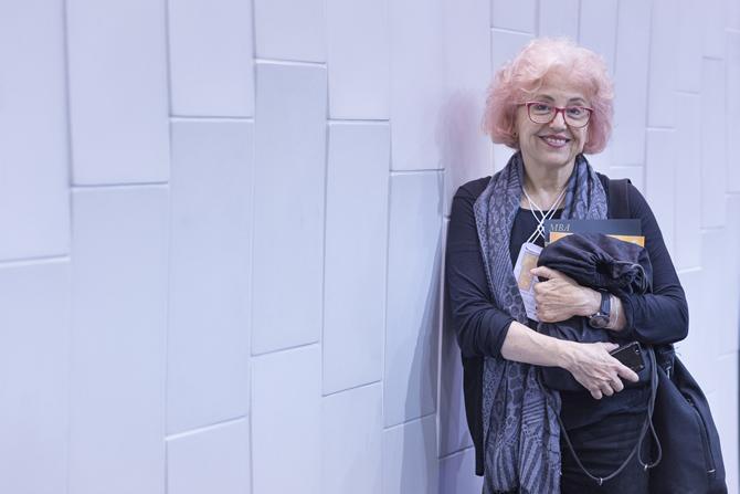 Renata Rubim com a linha Illusione, sua criação para a Solarium