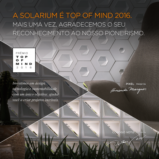 Solarium Top of Mind 2016