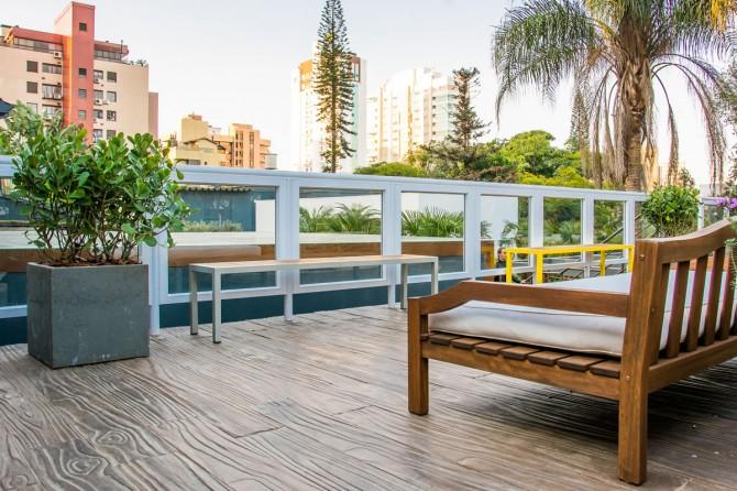 Linha Legno Rústico na Casa Cor Porto Alegre
