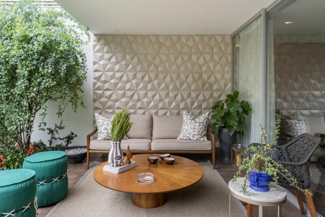 Residência em Lima com linhas Synapsis e Cobogó Luna