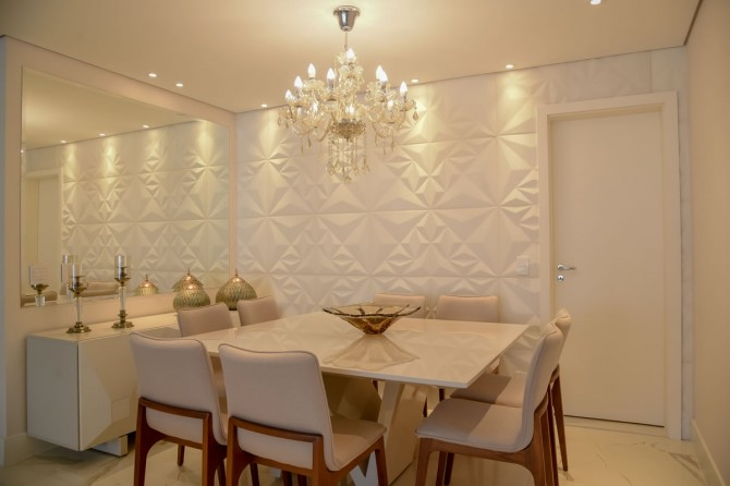Sala de Jantar com linha Denali