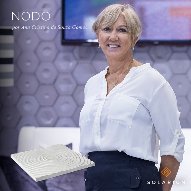 Linha Nodo, lançamento da Solarium, assinada por Ana Cristina de Souza Gomes