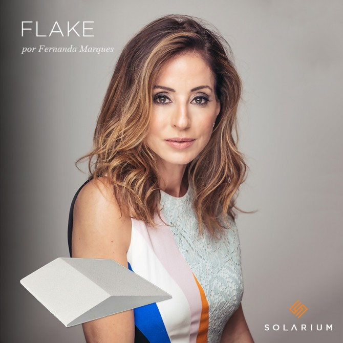 Linha Flake, lançamento da Solarium, assinada por Fernanda Marques
