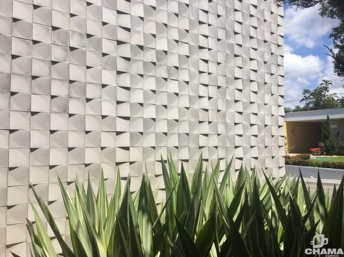 Linha Corner em projeto residencial da CHAMA Arquitetura