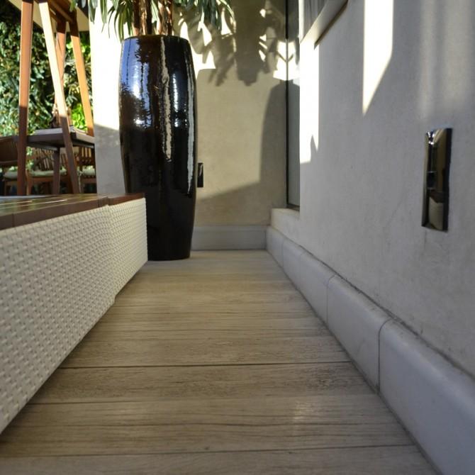 Linha Legno Pátina em projeto da CHAMA Arquitetura