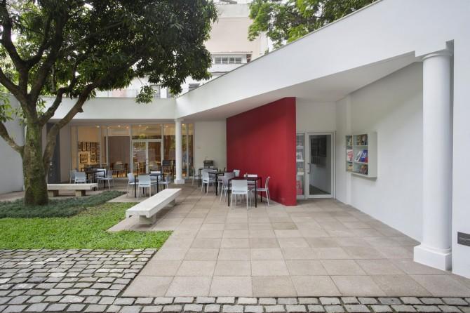 Linha Drenaggio na Casa Roberto Marinho