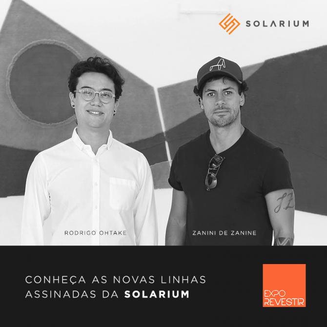 Solarium irá lançar linhas assinadas por Rodrigo Ohtake e Zanini de Zanine