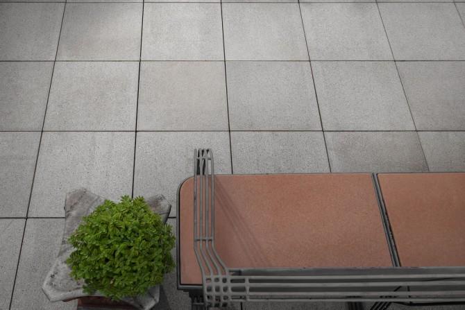 Sistema de piso elevado da Solarium com linha Solo Levigato