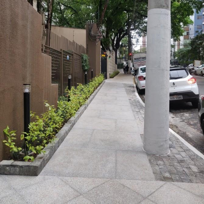 Terraviva Compac em calçada reformada
