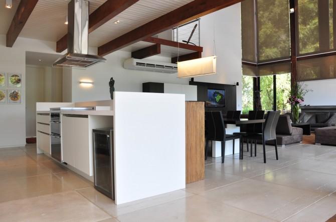 Piso Carrara em projeto residencial