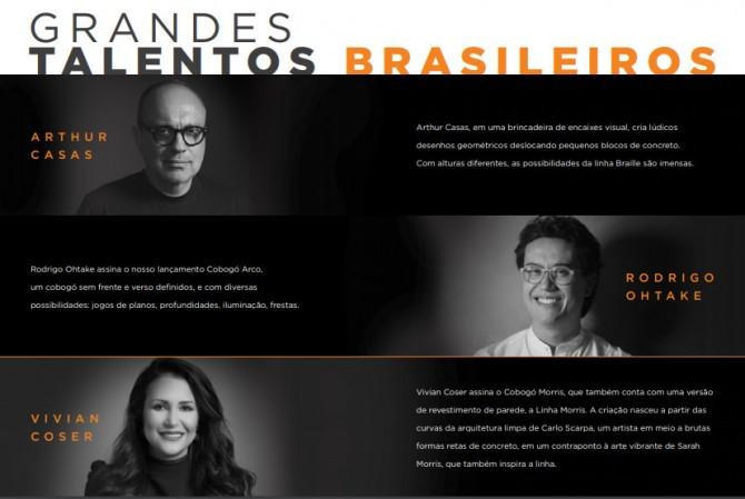 Arthur Casas, Rodrigo Ohtake e Vivian Coser assinam novas linhas para a Solarium