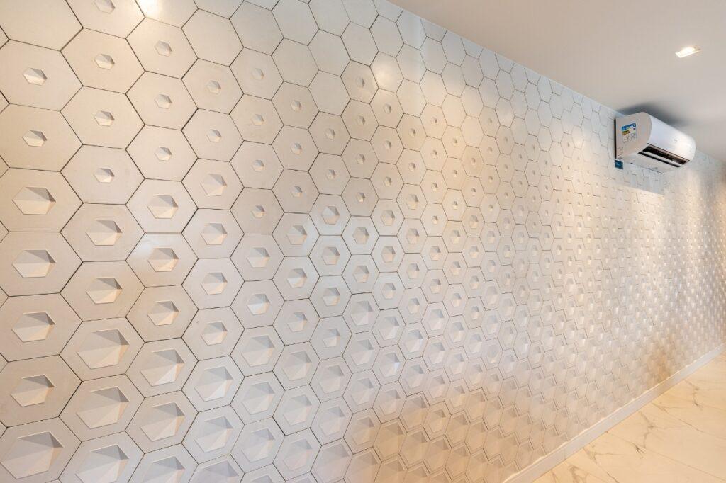 Linha Pixel Solar Revestimentos em apartamento planejado de Sorocaba, em SP.